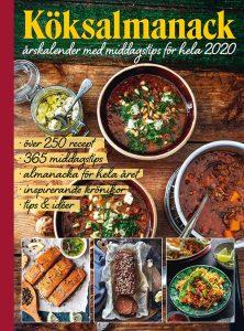 köksalmanack, årets kokböcker 2019