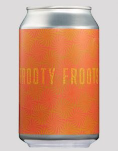 Kaija tsestar suröl Frooty Froots från Duckpond brewery